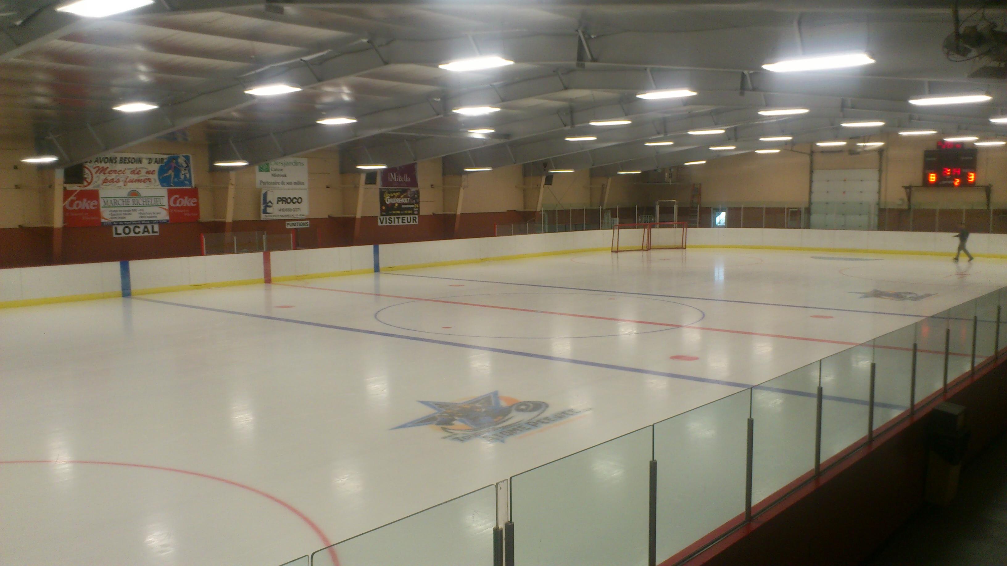 Centre sportif mistouk ville d 39 alma - Saint de glace 2018 ...